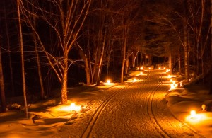 Candlelight Snowshoe/Ski/Hike @ Merrick State Park | Fountain City | Wisconsin | United States