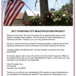 2017 Beautification Project