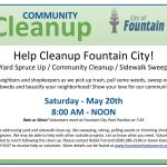 1st Annual Community Cleanup