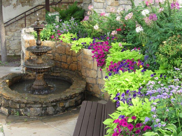 Fountain Flower Garden