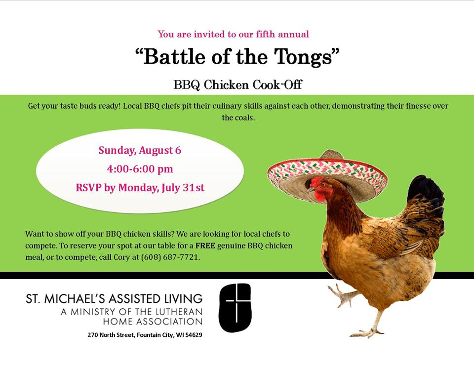 5th Annual Battle of Tongs @ St Michael's Assisted Living  | Fountain City | Wisconsin | United States