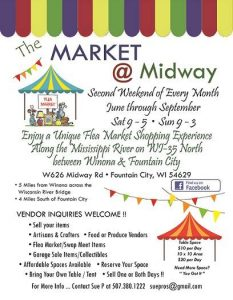 Flea Market @ Club Midway | Fountain City | Wisconsin | United States