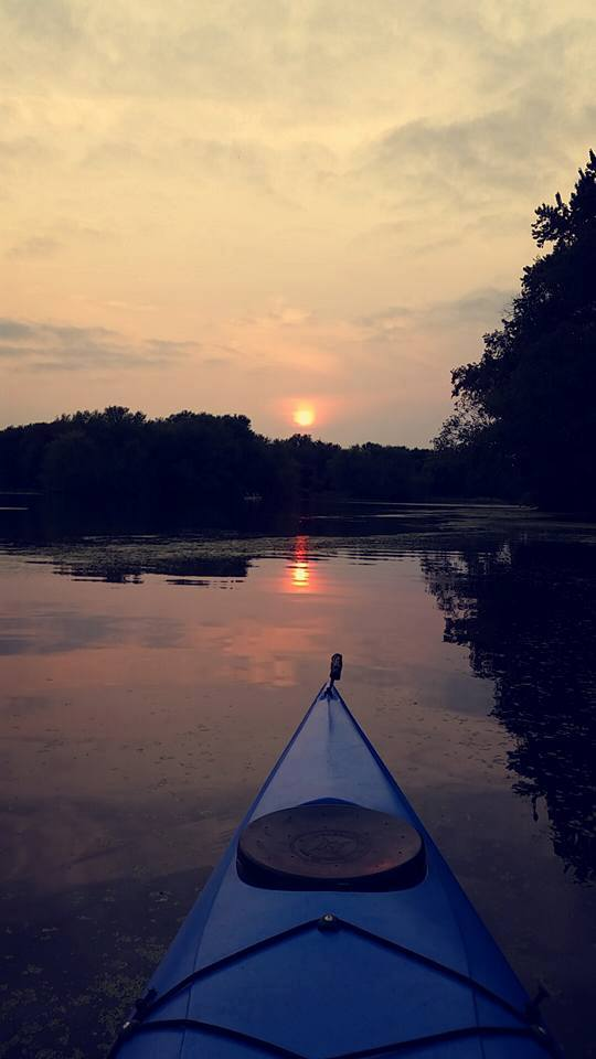 Full Moon Paddle @ Merrick State Park | Fountain City | Wisconsin | United States